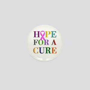 Hope For A Cure Mini Button