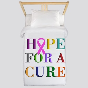 Hope For A Cure Twin Duvet