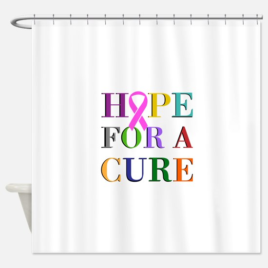 Hope For A Cure Shower Curtain
