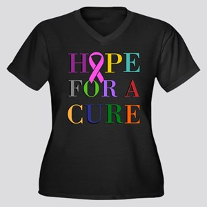 Hope For A Cure Plus Size T-Shirt