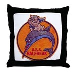 USS HALFBEAK Throw Pillow