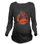 USS HALFBEAK Long Sleeve Maternity T-Shirt