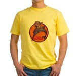 USS HALFBEAK Yellow T-Shirt