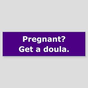Get a Doula Bumper Sticker