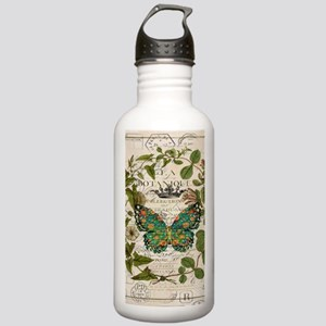 vintage botanical art Stainless Water Bottle 1.0L
