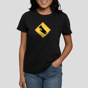 Crossing Zone Tuba Women's Dark T-Shirt