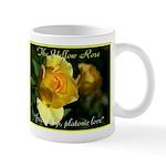 Yellow Rose Meaning Mug