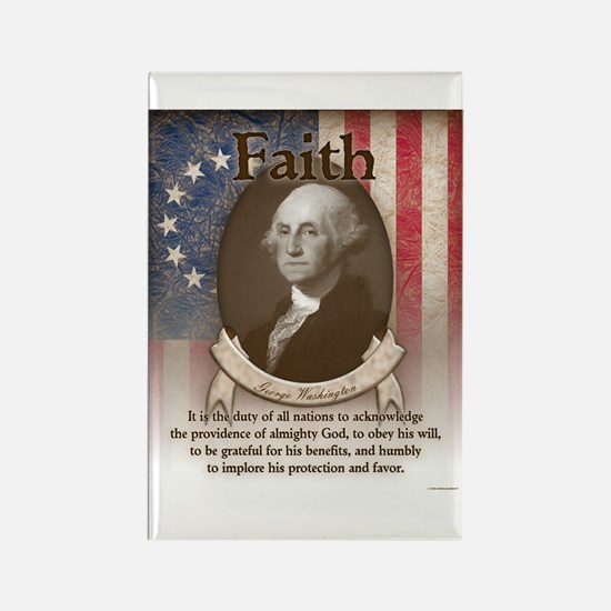 George Washington - Faith Magnets