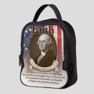 George Washington - Faith Neoprene Lunch Bag