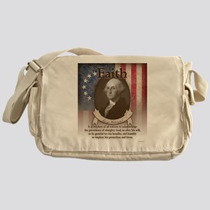George Washington - Faith Messenger Bag