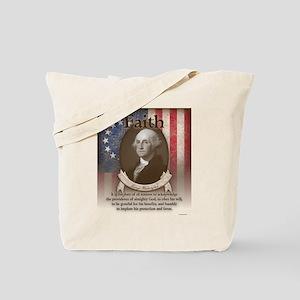 George Washington - Faith Tote Bag