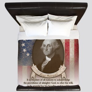 George Washington - Faith King Duvet