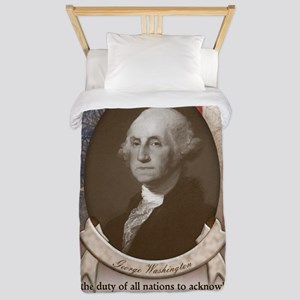 George Washington - Faith Twin Duvet