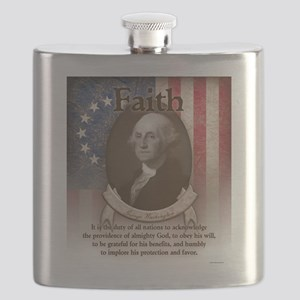 George Washington - Faith Flask