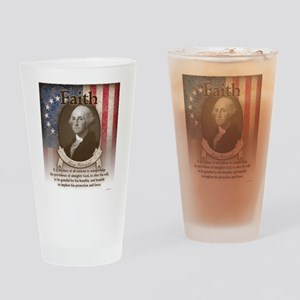 George Washington - Faith Drinking Glass