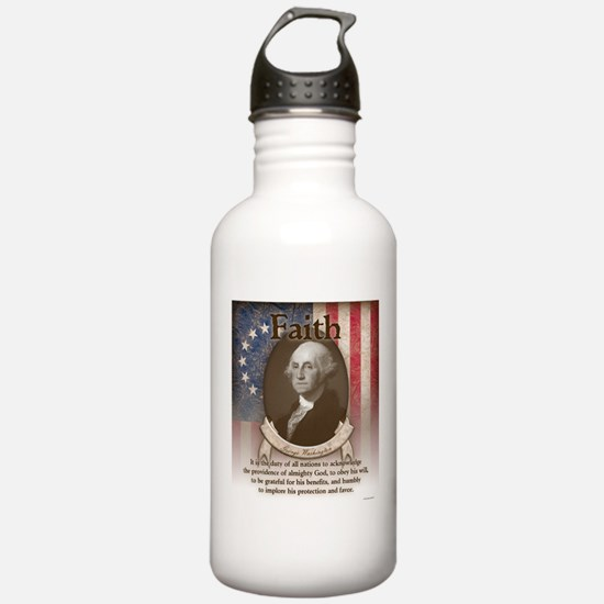 George Washington - Faith Water Bottle