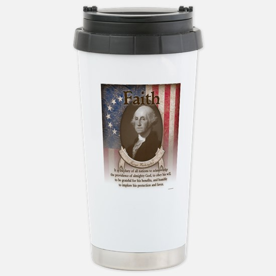 George Washington - Faith Travel Mug