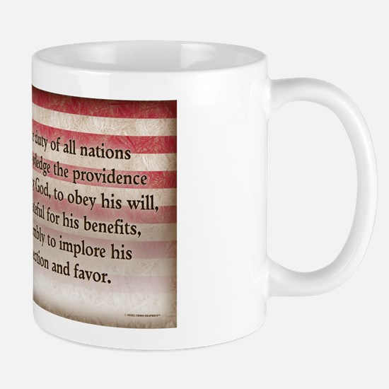 George Washington - Faith Mugs