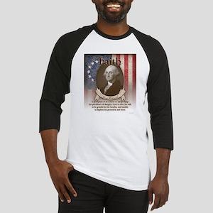 George Washington - Faith Baseball Jersey