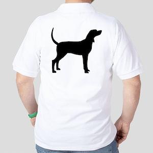 Coonhound Dog (#2) Golf Shirt