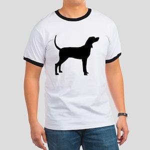 Coonhound Dog (#2) Ringer T