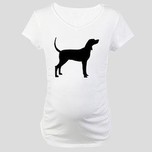 Coonhound Dog (#2) Maternity T-Shirt