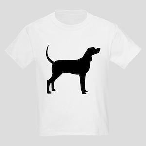 Coonhound Dog (#2) Kids Light T-Shirt