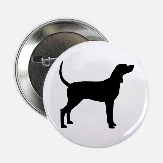 "Coonhound Dog (#2) 2.25"" Button"