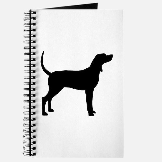 Coonhound Dog (#2) Journal
