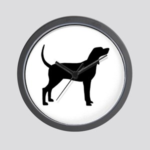 Coonhound Dog (#2) Wall Clock