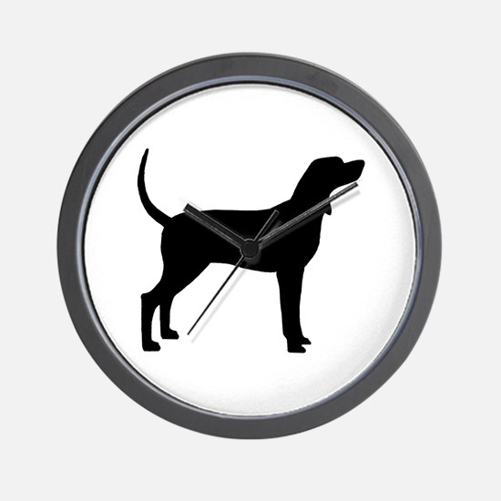 Coonhound Dog (#2) Wall Clock