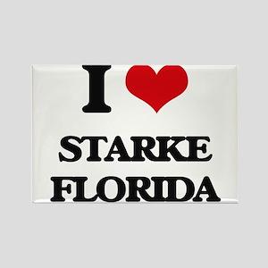 I love Starke Florida Magnets