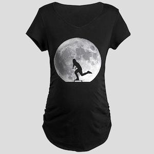 Moon Pushing Maternity T-Shirt