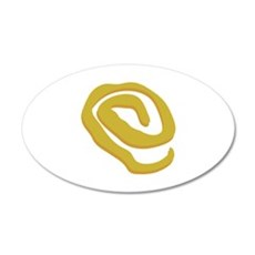 Yellow Sign Wall Decal