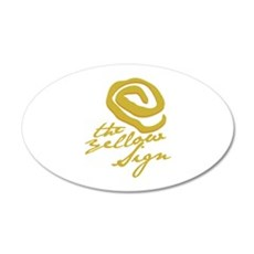 The Yellow Sign Wall Decal