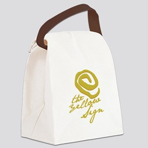 The Yellow Sign Canvas Lunch Bag