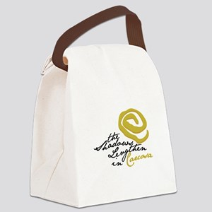Shadows Lengthen Canvas Lunch Bag