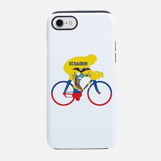 Ecuador Cycling iPhone 7 Tough Case