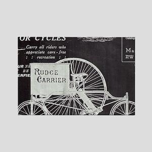 french paris vintage bike Magnets
