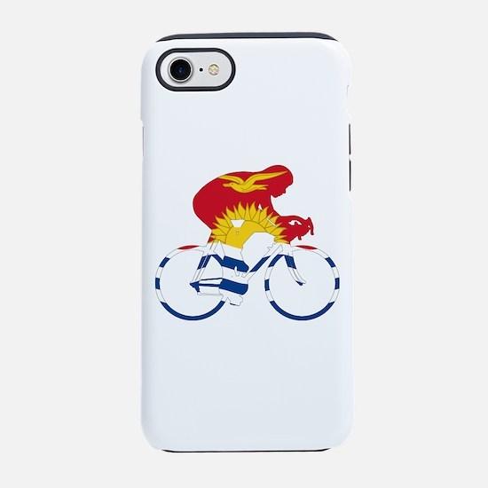 Kiribati Cycling iPhone 7 Tough Case