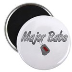 Navy Major Babe ver2 Magnet