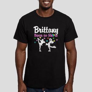 SKATING PRINCESS Men's Fitted T-Shirt (dark)