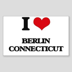 I love Berlin Connecticut Sticker