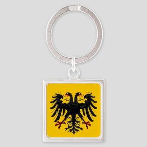 Holy Roman Empire Insignia Square Keychain