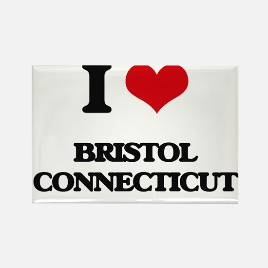 I love Bristol Connecticut Magnets