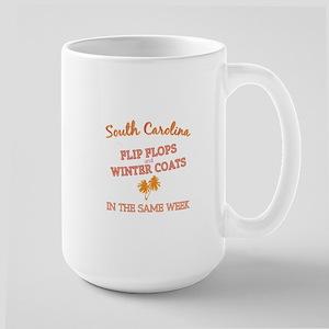 South Carolina Weather - Flip Flops + Winter Mugs