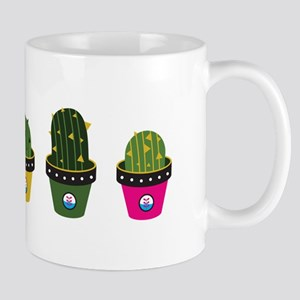Cactuses in pots Mugs