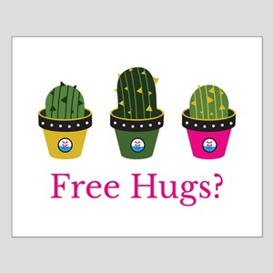 Free hugs? cactuses Posters