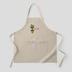 Peach fuzz cactus Apron