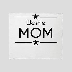 Westie Mom Throw Blanket